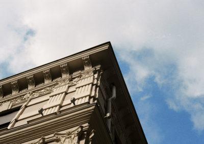 Beograd, Cavketov pasaz, Ulicna galerija
